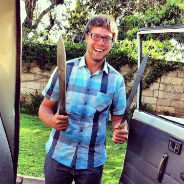 Seth with swords :)